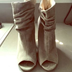 Chinese Laundry open toe booties